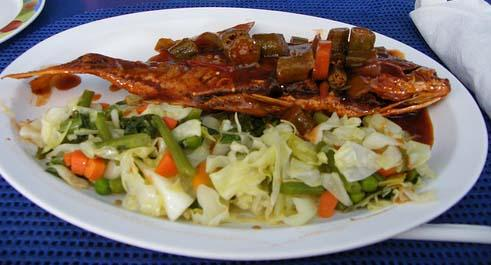 Brown stew fish recipe jamaican country style forumfinder Image collections