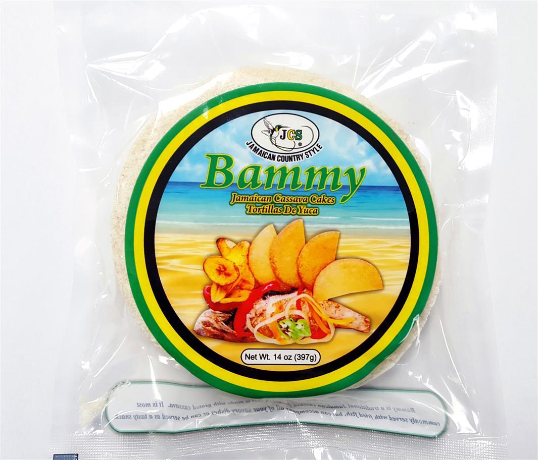 Jamaican Bammy - Bammy Baked Cassava Cake