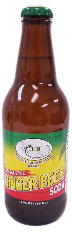 GINGER BEER SODA 12oz JCS402