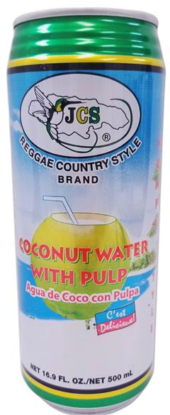 Coco water with pulp 16.9 fl oz JCS193