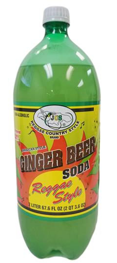 JCS Ginger Beer Soda 2L